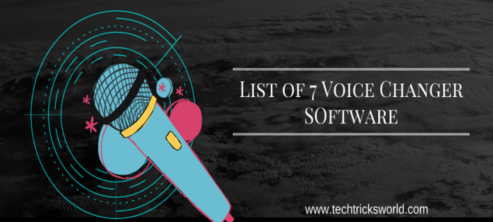 Create Fake Voice with Voice Changer for PC. 7 Voice Changer Software Listed.