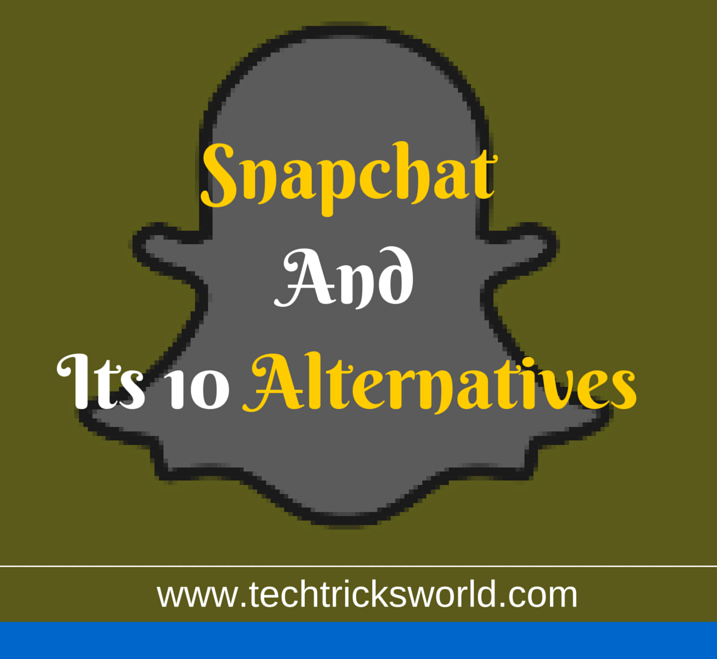 snapchat and alternatives