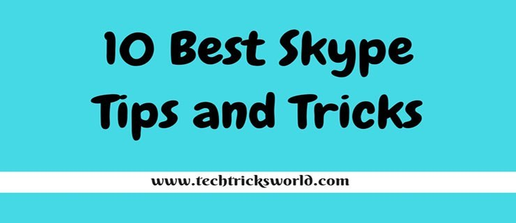 skype tips and tricks 2016