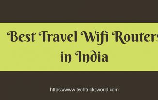 best travel wifi routers