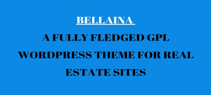 Bellaina – A Fully Fledged GPL WordPress Theme for Real Estate Sites [Review]