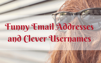 Best Funny Email Addresses and Clever Usernames