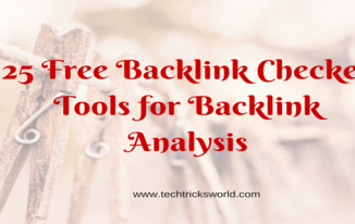 List of 25 Free Backlink Checker Tools For Backlink Analysis