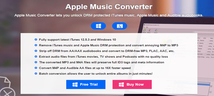 Remove DRM from Apple Music with Apple Music Converter