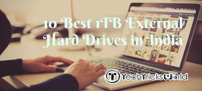 10 Best 1TB External Hard Drives in India