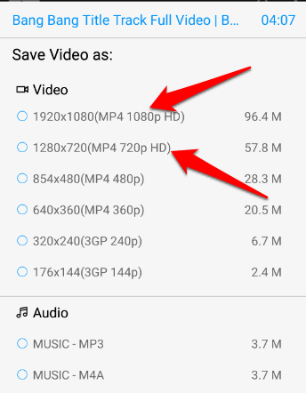how to download videos from keepvid on android