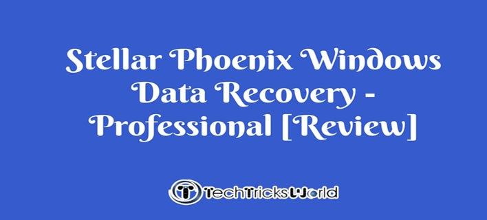 Stellar Phoenix Windows Data Recovery – Professional