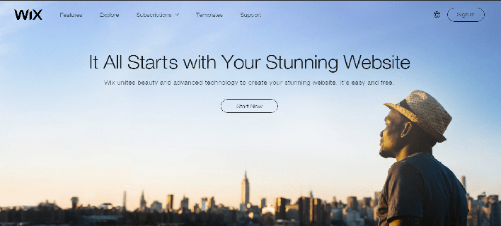Wix – Website Builder With Amazing Features