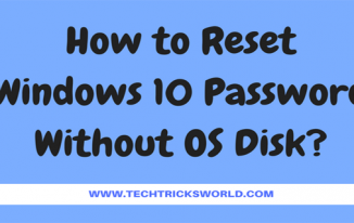 How to Reset Windows 10 Password Without OS Disk?