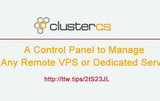 Cluster CS – A Control Panel to Manage Any Remote VPS or Dedicated Server