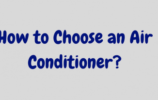 how to choose air conditioner