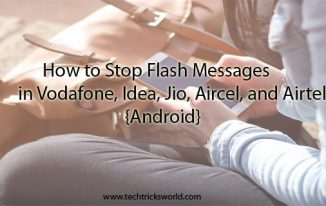 How to Stop Flash Messages