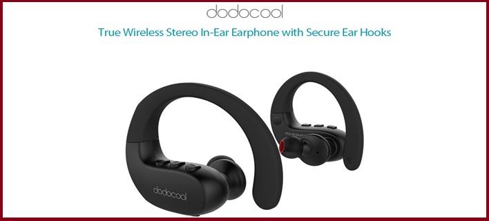Best Wireless Stereo Sports Earphone For Running by Dodocool #Giveaway #IndiaShipping