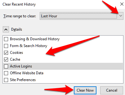Clear cache in Firefox 2