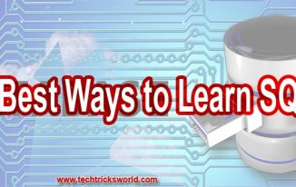 Best Ways to Learn SQL