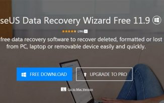 Recover Data on Windows Computer Using EaseUS Data Recovery Wizard 11.9