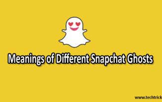 Snapchat Ghost Meanings – Meaning of Different Snapchat White Ghosts