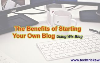 The Benefits of Starting Your Own Blog
