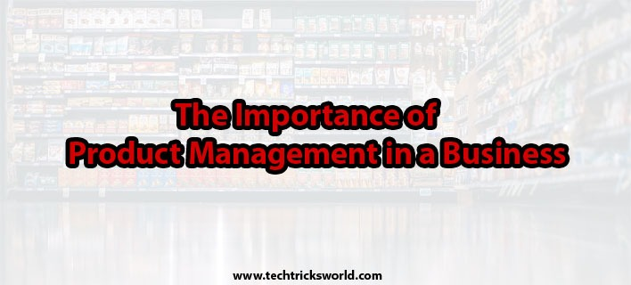 The Importance of Product Management in a Business