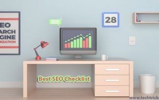 Best SEO Checklist for 2018