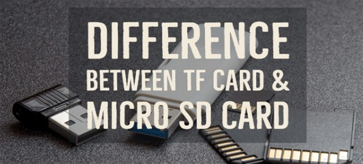 What is TF Card? Difference between MicroSD and TF card