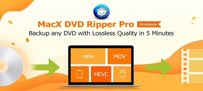 Backup & Convert DVD with MacX DVD Ripper Pro for Free