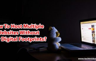 How To Host Multiple Websites Without Any Digital Footprints?