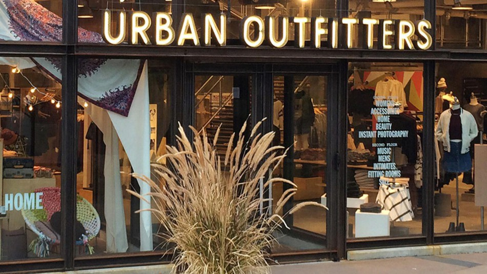 Stores like Urban Outfitters