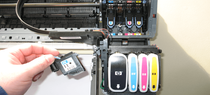 How to Clean HP Inkjet Printer Head?