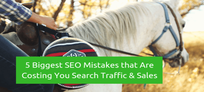 Biggest SEO Mistakes that Are Costing You Search Traffic And Sales