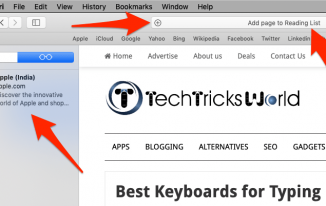 How to Get rid of Reading List Sidebar on Mac