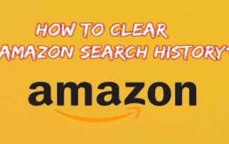 How to Clear Amazon Search History?