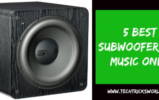5 Best Subwoofer for Music Only