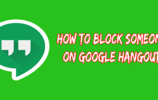 How to Block People on Google Hangouts?