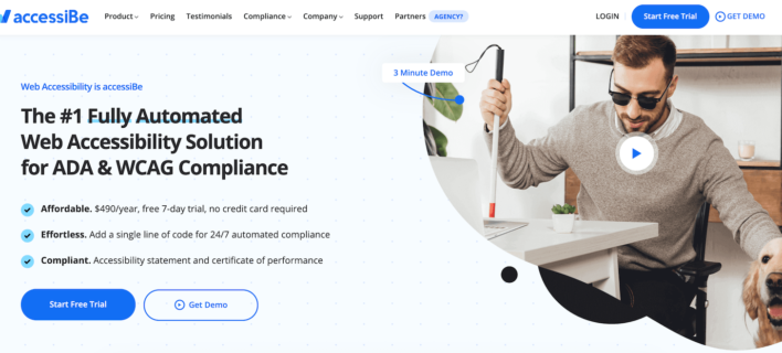 accessiBe Review: Automated ADA Compliance Solution