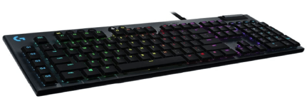 Logitech G815 RGB Mechanical Gaming Keyboard (Linear) -min