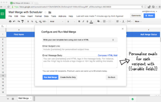 How to Mail Merge in Google Docs?