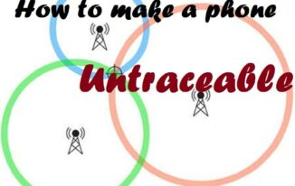 How to Make a Phone Untraceable?