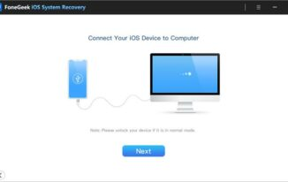FoneGeek iOS System Recovery: Fix Various iOS Issues at Home